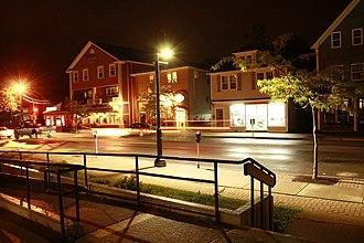 Antigonish, Nova Scotia - Image: Main Street Antigonish Summer