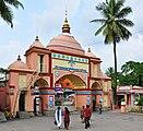 Main gate of ISKCON, Mayapur 07102013.jpg