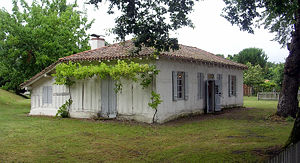 Félix Arnaudin - Birth house of Félix Arnaudin, at Labouheyre