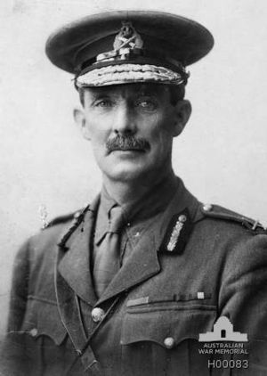 ANZAC Mounted Division - The second GOC Major-General Edward Chaytor
