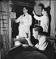 Male Nurses- Life at Runwell Hospital, Wickford, Essex, 1943 D14311.jpg