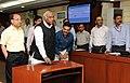 Mallikarjun Kharge launching the Electronic Challan-cum-Return (ECR) at the inauguration of Quarterly News Letter 'Shram Sansar' of Mo Labour & Employment, in New Delhi on May 01, 2012.jpg