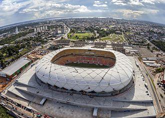 Gerkan, Marg and Partners - Arena da Amazônia, Manaus Brazil opened 2014