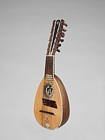 Genoese mandolin, 19th century