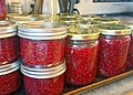 Many jars of raspberry jam (19778995921).jpg