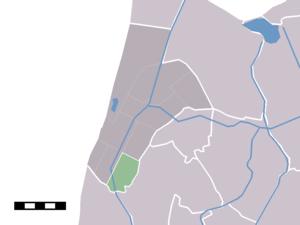 Burgerbrug - Image: Map NL Zijpe Burgerbrug