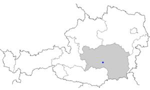 Zeltweg - Image: Map at zeltweg