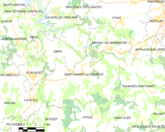 Map commune FR insee code 15196.png