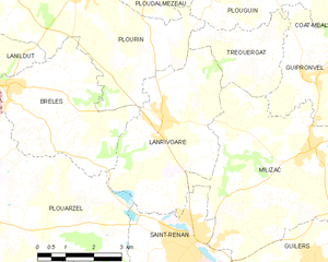 Map commune FR insee code 29119.png
