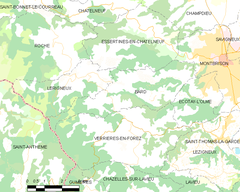 Map commune FR insee code 42012.png