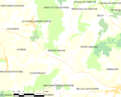 Map commune FR insee code 61245.png