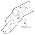Map of Mifflin County No Text, Pennsylvania.png
