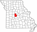 Map of Missouri highlighting Morgan County.png