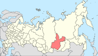 Map of Russia - Irkutsk Oblast (2008-03).svg