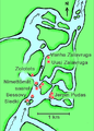Map of Vyg river rock carvings.png