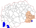 Map of the municipalities of the Southeastern Statistical Region el.png