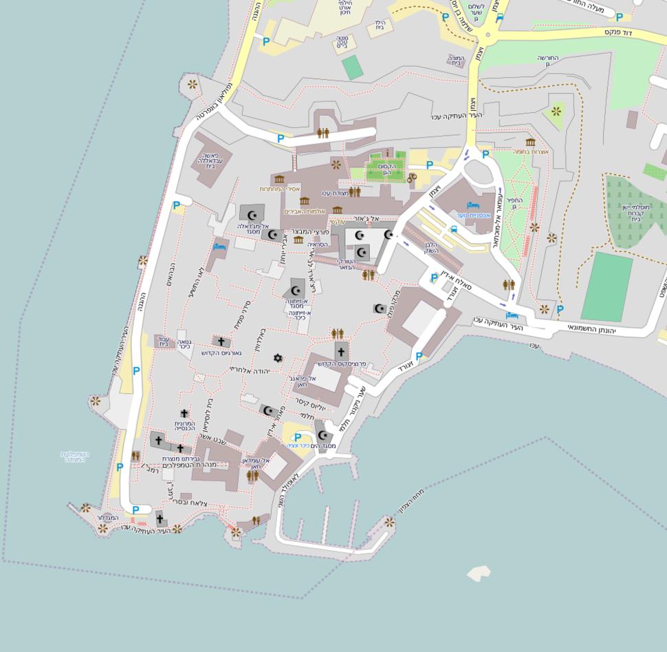 Map oud akko