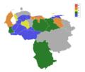 Mapa de Clasificación Regional para el Miss Internacional.png