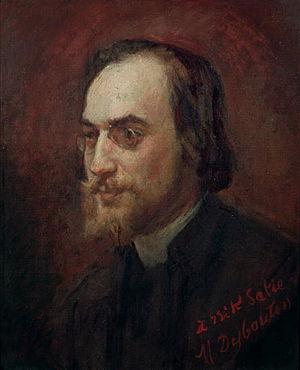 Prélude d'Eginhard - Erik Satie, portrait by Marcellin Desboutin (1893)