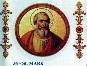 Pope Mark - Image: Marcus (papa)