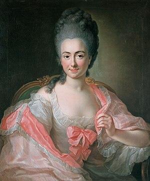 Anna Rosina de Gasc - Image: Maria Antonia Pessina von Branconi by A.R. de Gasc (1770, Braunschweig)