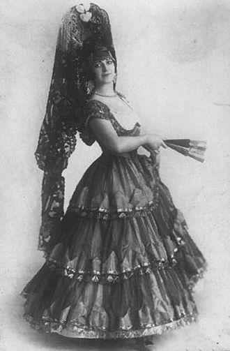Maria Nikolaevna Kuznetsova - Maria Kuznetsova in Spanish costume