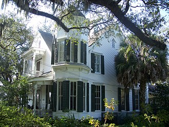 Marianna, Florida - Dekle-Brunner House, Marianna Historic District