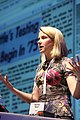 Marissa Mayer speaking at TechCrunch 2008.jpg