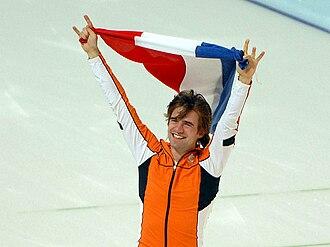 Netherlands at the 2010 Winter Olympics - Gold medalist 1,500 m speed skating Mark Tuitert