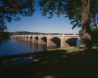 Market Street Bridge (Susquehanna River) - HAER photo of the Market Street Bridge
