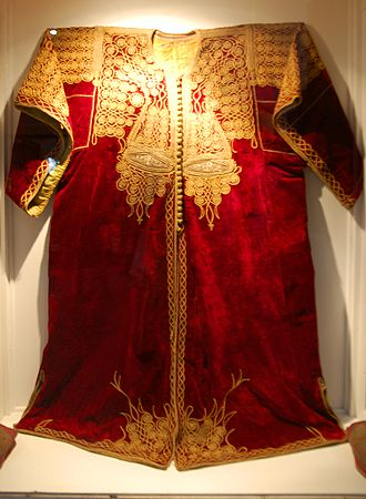 Culture of Morocco - A Moroccan kaftan