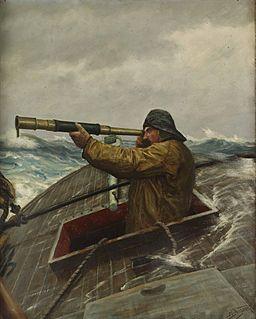 Martin Aagaard - Sailor med kikkert