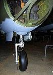 Martin B-26G Marauder nosewheel detail, National Museum of the US Air Force, Dayton, Ohio, USA. (46085810702).jpg