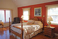 Master bedroom at Potomac River Retreat Westmoreland State Park (16263553984).jpg