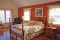 Master bedroom at Potomac River Retreat Westmoreland State Park (16263553984).jpg