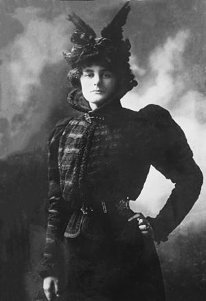 Maud Gonne - Maud Gonne MacBride, no date. Library of Congress.