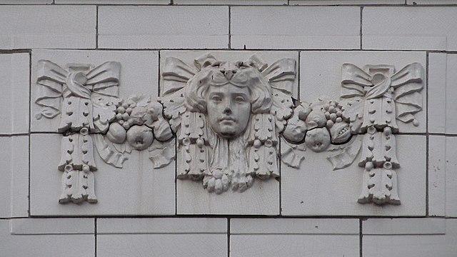 Terra-cotta ornament, Maul Building
