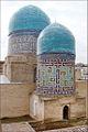 Mausolée de Qazi Zadeh Roumi (Shah-i-Zinda, Samarcande) (6015307746).jpg