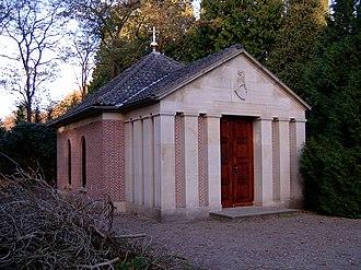 Doorn - The tomb of Wilhelm II at Huis Doorn