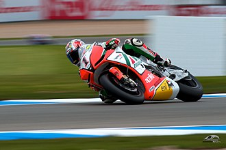 Max Biaggi - Biaggi riding the RSV4 in 2011