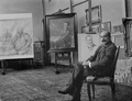 Max Liebermann in his studio 1903, by Nicola Perscheid.png