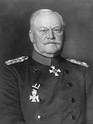 Maximilian von Prittwitz - General von Prittwitz in 1915