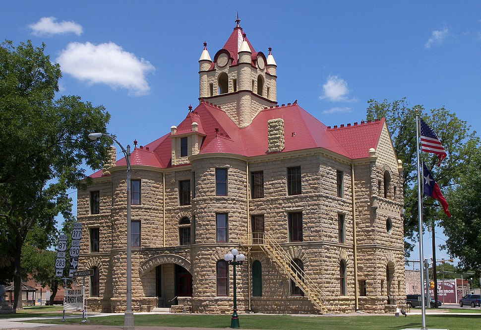 Mcculloch county courthouse 2010