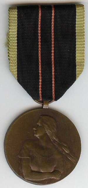Medal of the Armed Resistance 1940–1945 - Image: Medaille de la resistance armee 40 45 Belgique