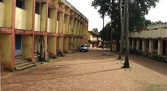 Punthalathazham -     M V Govt. V H S S Peroor, Kollam spread over two acres.
