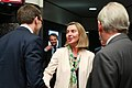 Meeting of Federica Mogherini, High Representative of the European Union for Foreign Affairs and Security Policy and Sven Misker, Estonian Minister of Foreign Affairs IMGM3776 (35625541845).jpg