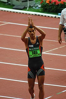 Mehdi Baala French middle-distance runner