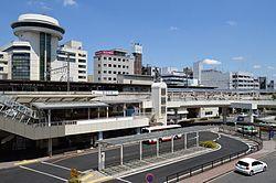 豊田市駅前周辺