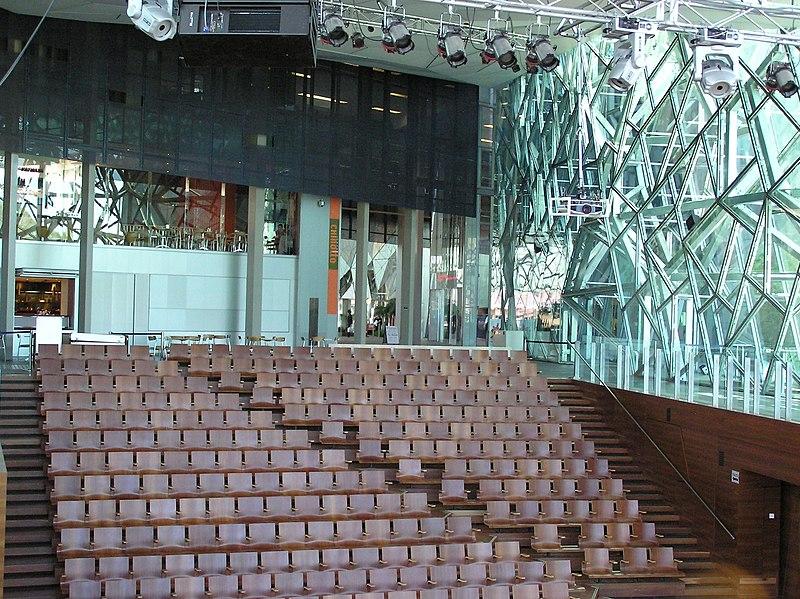 File:Melbourne Federation Square Theatre.jpg