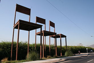 Human rights violations in Pinochet's Chile - Memorial to victims of the Dirty war in Chile